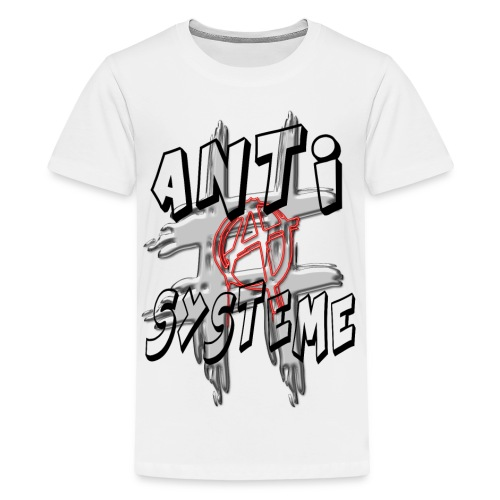 H-Tag Anti Système - T-shirt Premium Ado