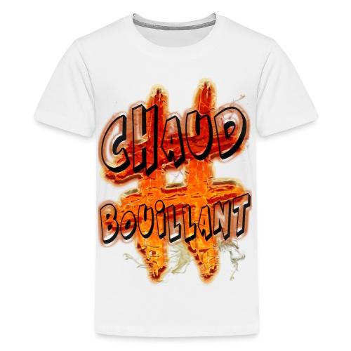 H-Tag Chaud Bouillant - T-shirt Premium Ado