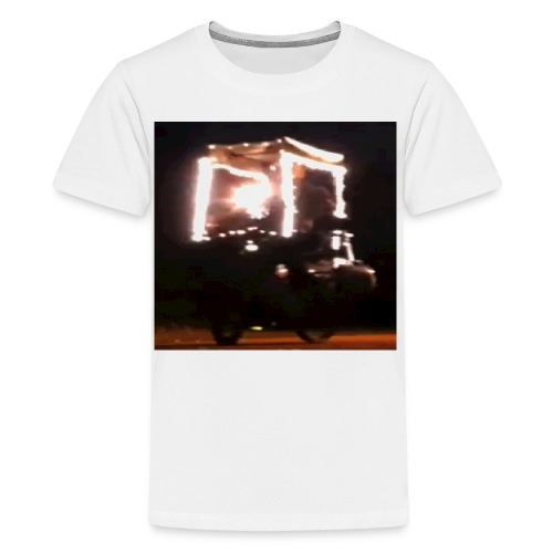 'Buy Merry Christmas Lights' T-Shirt For Men Women - Teinien premium t-paita