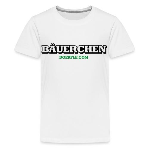 Bäuerchen - Teenager Premium T-Shirt