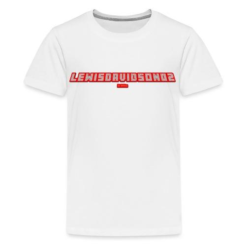 LewisDavidson02 4 png - Teenage Premium T-Shirt