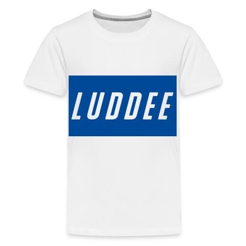 LuddeeshirtLogo - Teenage Premium T-Shirt