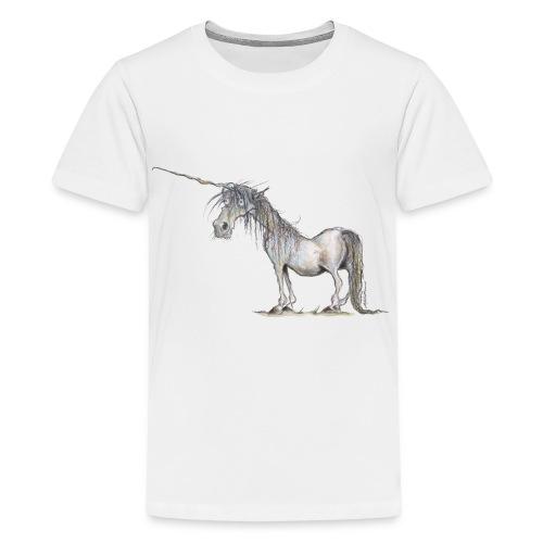 Das letzte Einhorn - Teenager Premium T-Shirt