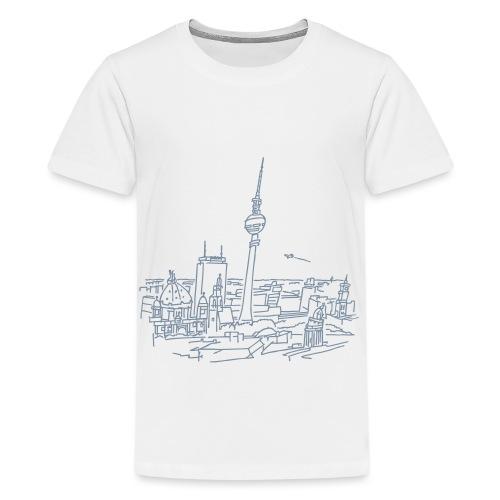 Le panorama de Berlin - T-shirt Premium Ado