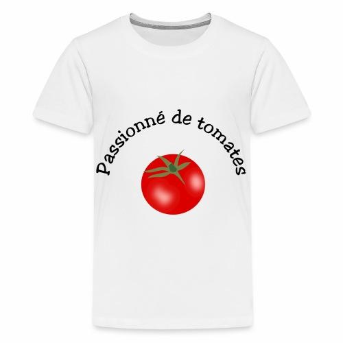 Tomate rouge - Teenage Premium T-Shirt