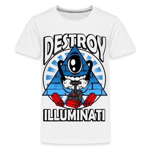 dynamite plunger png - Teenage Premium T-Shirt