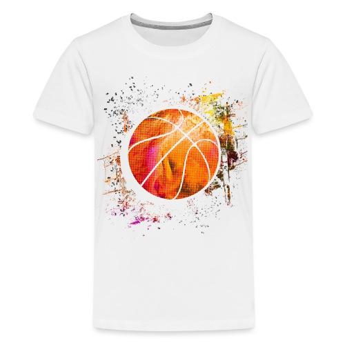 Basketball - Basketballer - Basketball Spieler - Teenager Premium T-Shirt