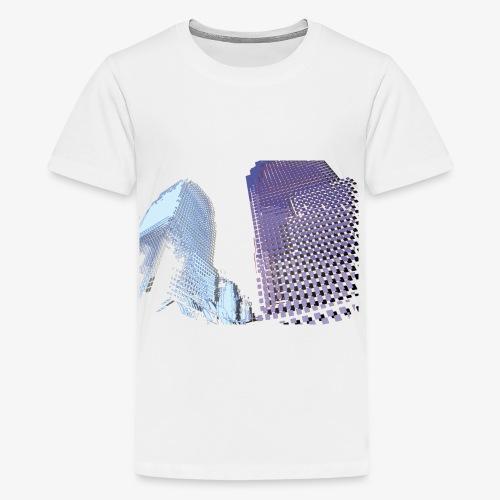 Landscape blu - Maglietta Premium per ragazzi