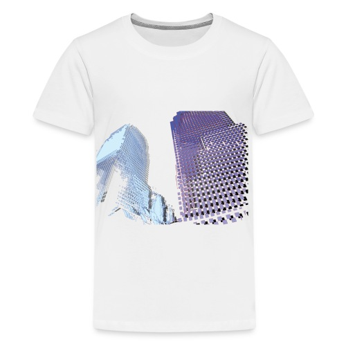 Landscape blu - Teenage Premium T-Shirt