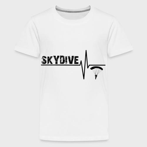 Skydive Pulse - Teenager Premium T-Shirt