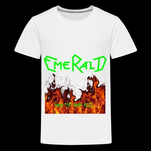 htgkbutton - Teenager Premium T-Shirt