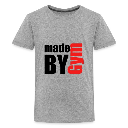 myde by gym - Teenager Premium T-Shirt