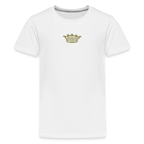 dronningkrone - Premium T-skjorte for tenåringer