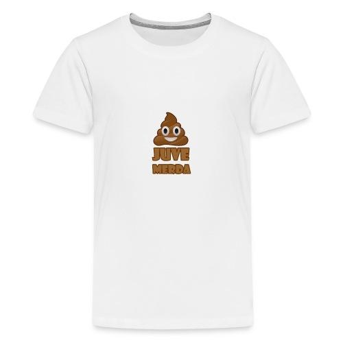 juve merda - Maglietta Premium per ragazzi