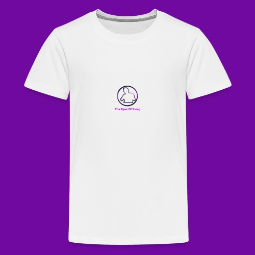Galaxy Logo - Teenage Premium T-Shirt