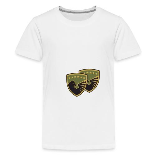 Forcat e Armatosura të Ko - Teenager Premium T-Shirt