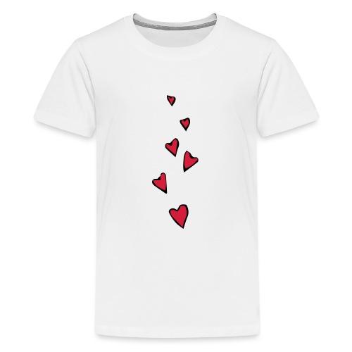 Cuori - Maglietta Premium per ragazzi