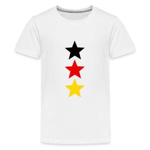 3 Sterne Deutschland #1 - Teenager Premium T-Shirt