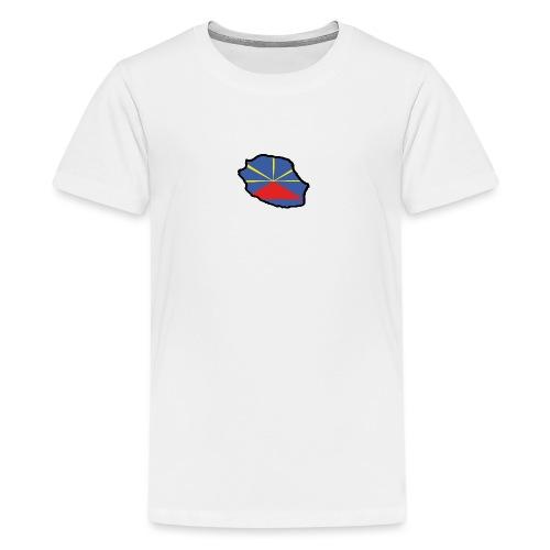 Drapeau Lo Mahaveli - T-shirt Premium Ado