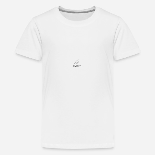 Harbul Simple Design - Teenage Premium T-Shirt