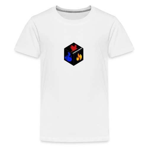 CoreGaming Logo - Teenage Premium T-Shirt
