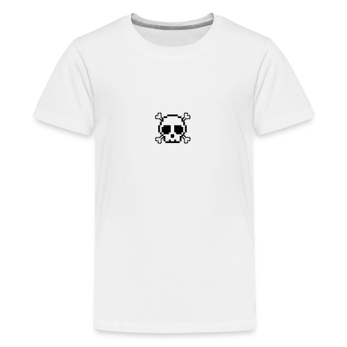 Scripted. Skull - Teenage Premium T-Shirt