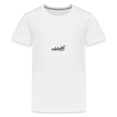 bikelife sticker - T-shirt Premium Ado