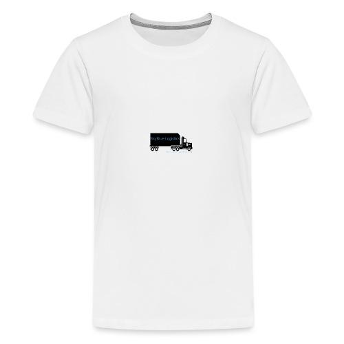 SkyBlue Logistics - Teenage Premium T-Shirt