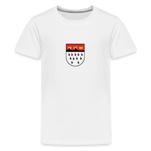 Köln Wappen Modern - Teenager Premium T-Shirt