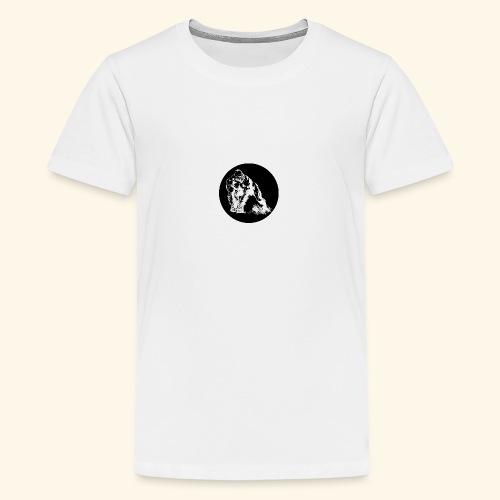 Gorila del parque - Camiseta premium adolescente