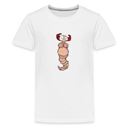 wormvrouw voor sticker huidskleur A png png - Teenager Premium T-shirt