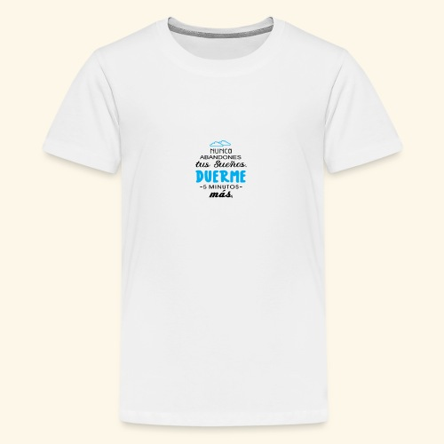 Duerme 😎 - Camiseta premium adolescente