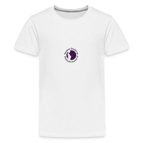 Suomen Doulat ry logo - Teinien premium t-paita