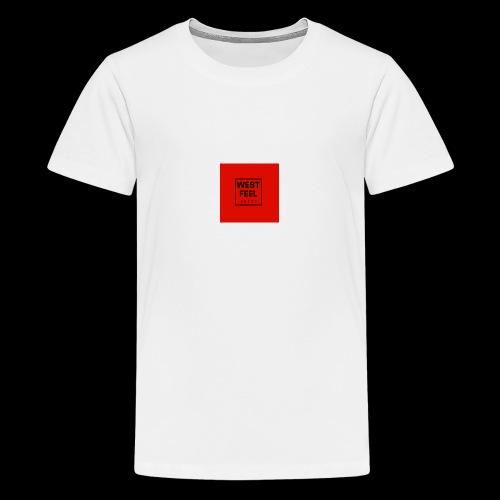 WEST FEEL logo rouge - T-shirt Premium Ado