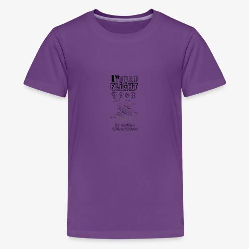 1stcontroled flight - T-shirt Premium Ado