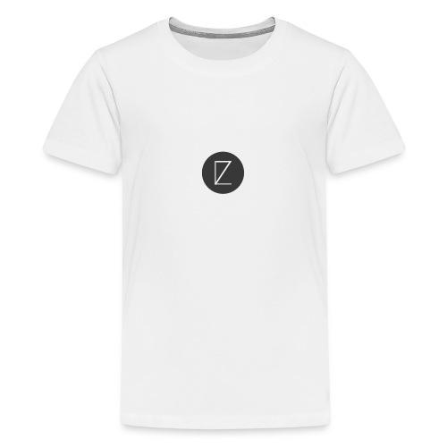 T-Shirt LZ Original Bleu - T-shirt Premium Ado