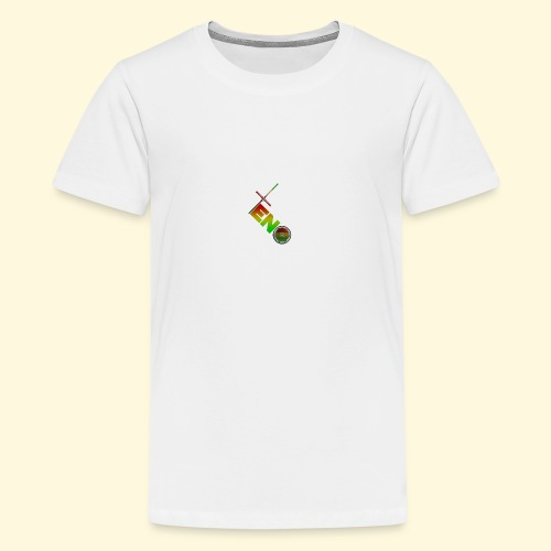 Scooter Logo - Rasta - Teenage Premium T-Shirt