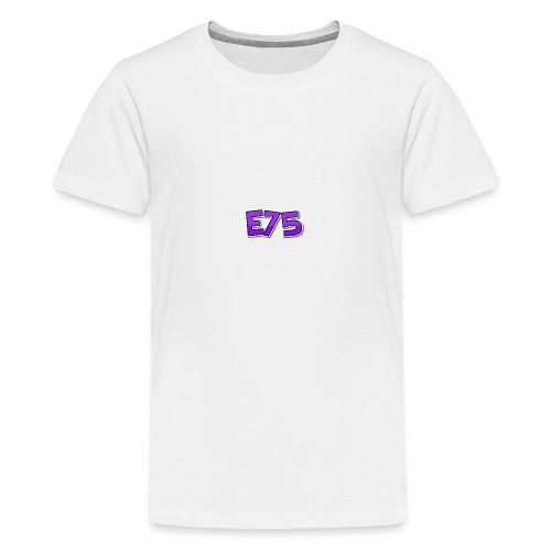 Ethan75HD - E75 Logo - Teenage Premium T-Shirt