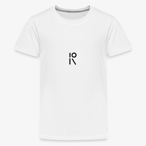 Tic Tac logo - Premium-T-shirt tonåring