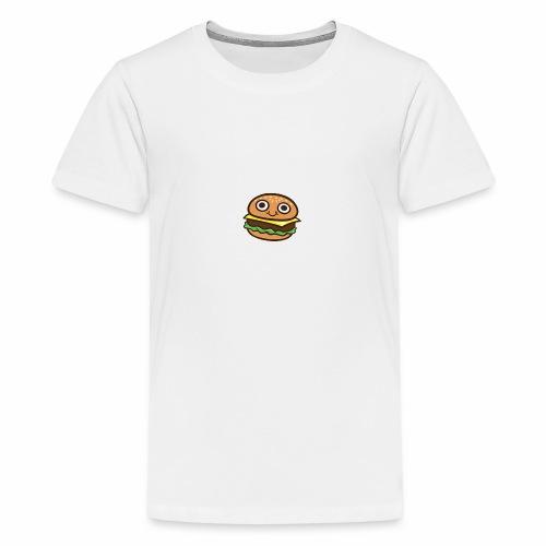 Burger Cartoon - Teenager Premium T-shirt