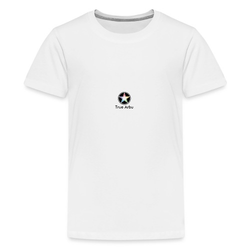 True Arbu Logo - Teenage Premium T-Shirt
