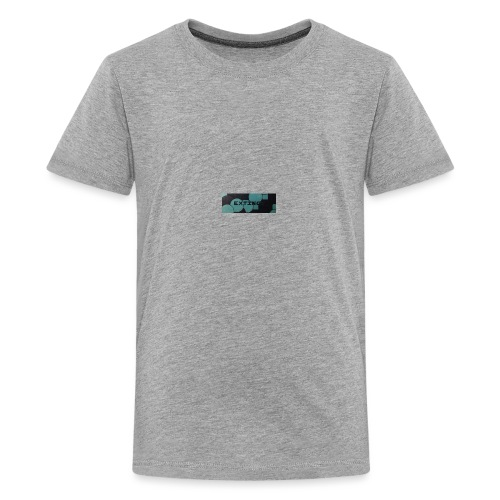 Extinct box logo - Teenage Premium T-Shirt