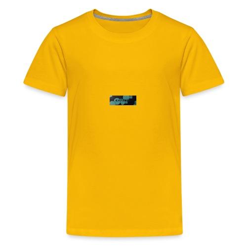 Extinct box logo - Teenage Premium T-Shirt