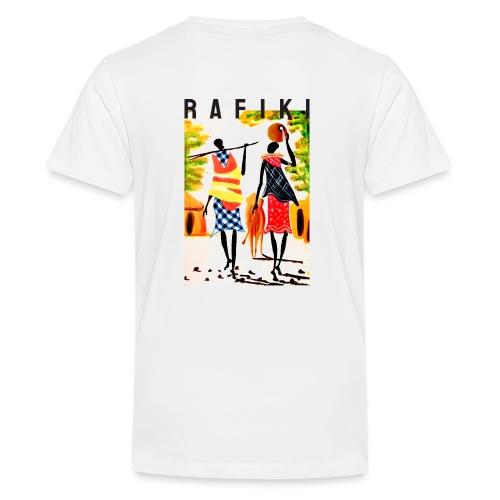 Sct Gemma – Rafiki = Friend - Teenager premium T-shirt
