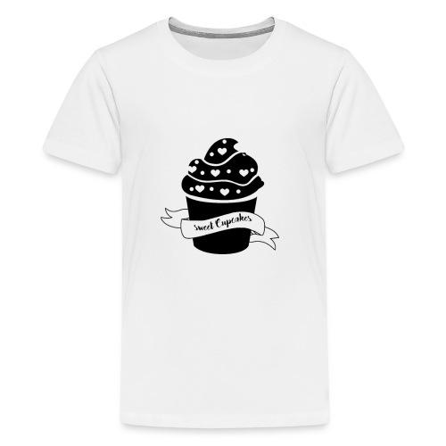 Cupcakes - Muffin - Herz - Sweet Cupcake - Teenager Premium T-Shirt