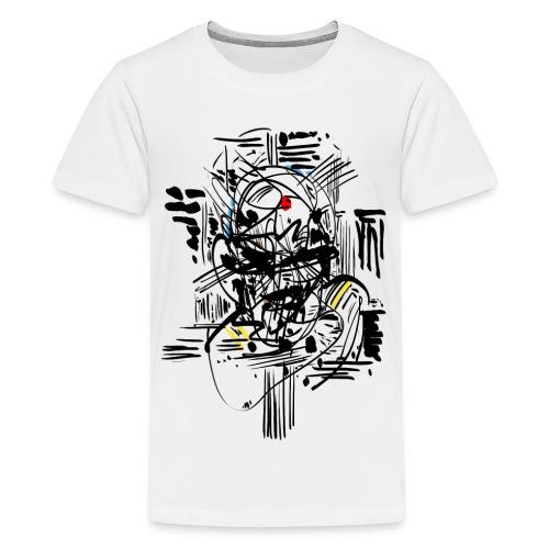 Samurai Ink - Teenage Premium T-Shirt