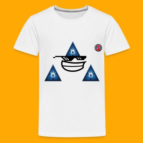 Silverhawk Gaming HD Logo - Teenage Premium T-Shirt