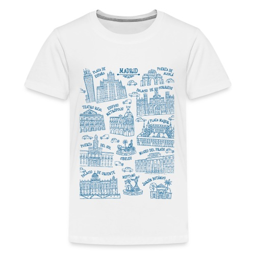 MADRID MONUMENTAL - Camiseta premium adolescente