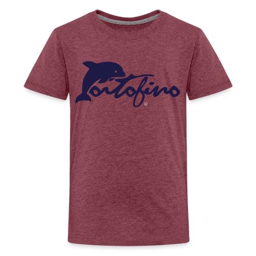 portofino 2019 NAVY - Teenage Premium T-Shirt