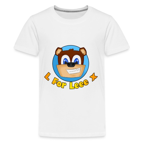 L for Leee x - Teenage T-shirt - Teenage Premium T-Shirt